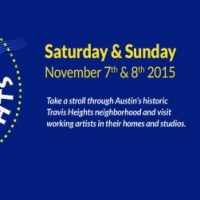 13th Annual Travis Heights Art Trail 2015